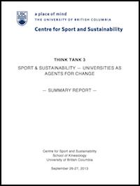 Think Tank 3 Report